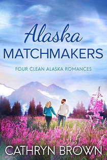 Alaska Matchmakers Book Cover with man and woman